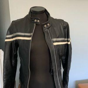 Screaming Eagle genuine leather motorcycle jacket